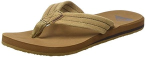 Quiksilver Men's Carver Suede 3-Point Flip-Flop