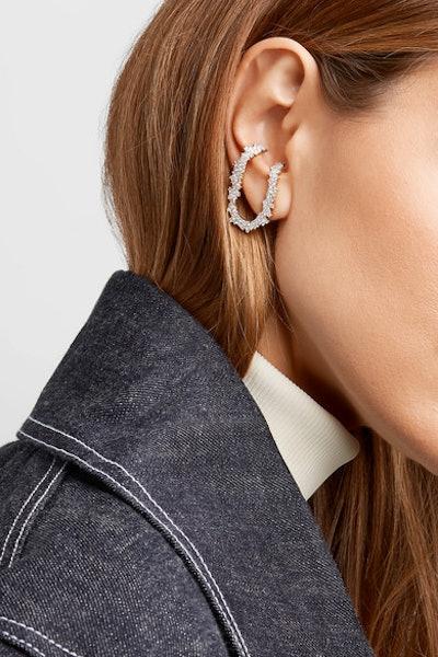 Izabel 18-Karat Gold Diamond Earring