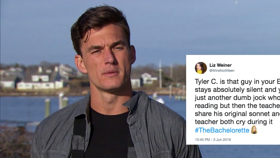 Tweets About Tyler C  On 'The Bachelorette' Prove He's Quickly