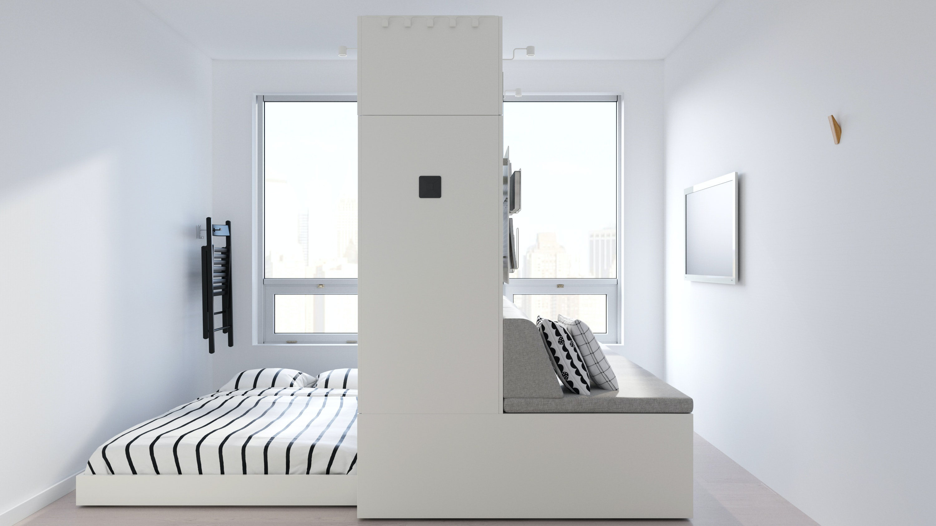 IKEAu0027s ROGNAN Robotic Furniture Turns Small Spaces Into Multi Functional  Homes