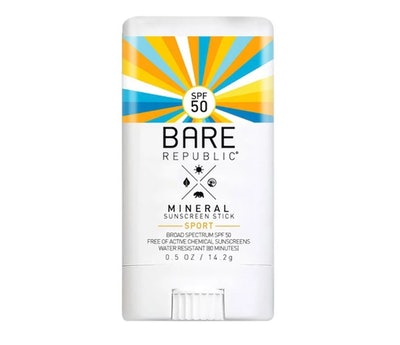 Bare Republic Mineral Sport Sunscreen Stick - SPF 50 - 0.5oz