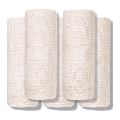 Exfoliating Organic Muslin Cloths