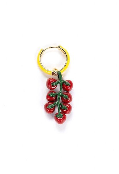 Tomato Earring