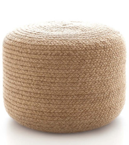 Braided Natural Indoor / Outdoor Pouf