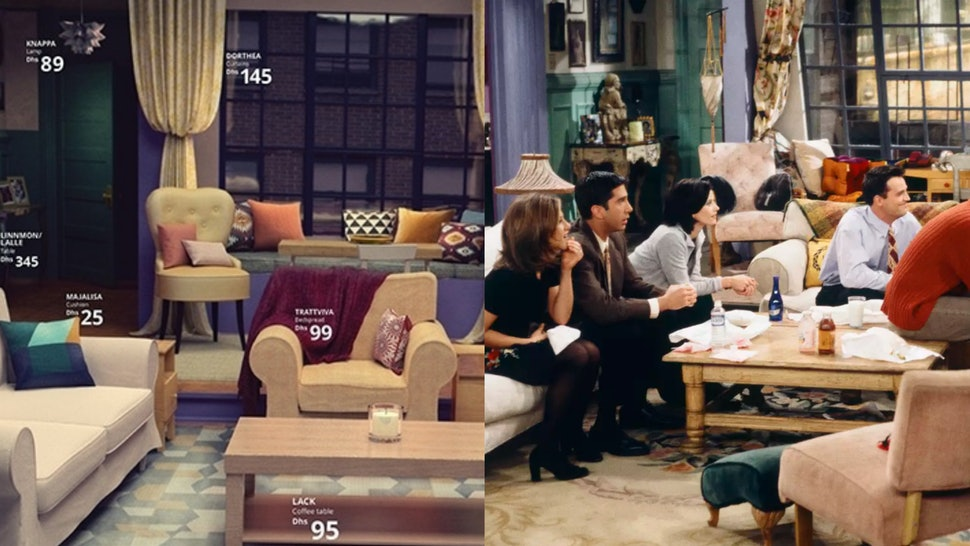 How To Recreate The \'Friends\' Living Room With IKEA Furniture