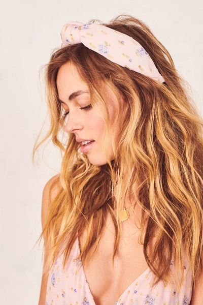 LoveShackFancy x Lele Sadoughi Knotted Headband - Maybell