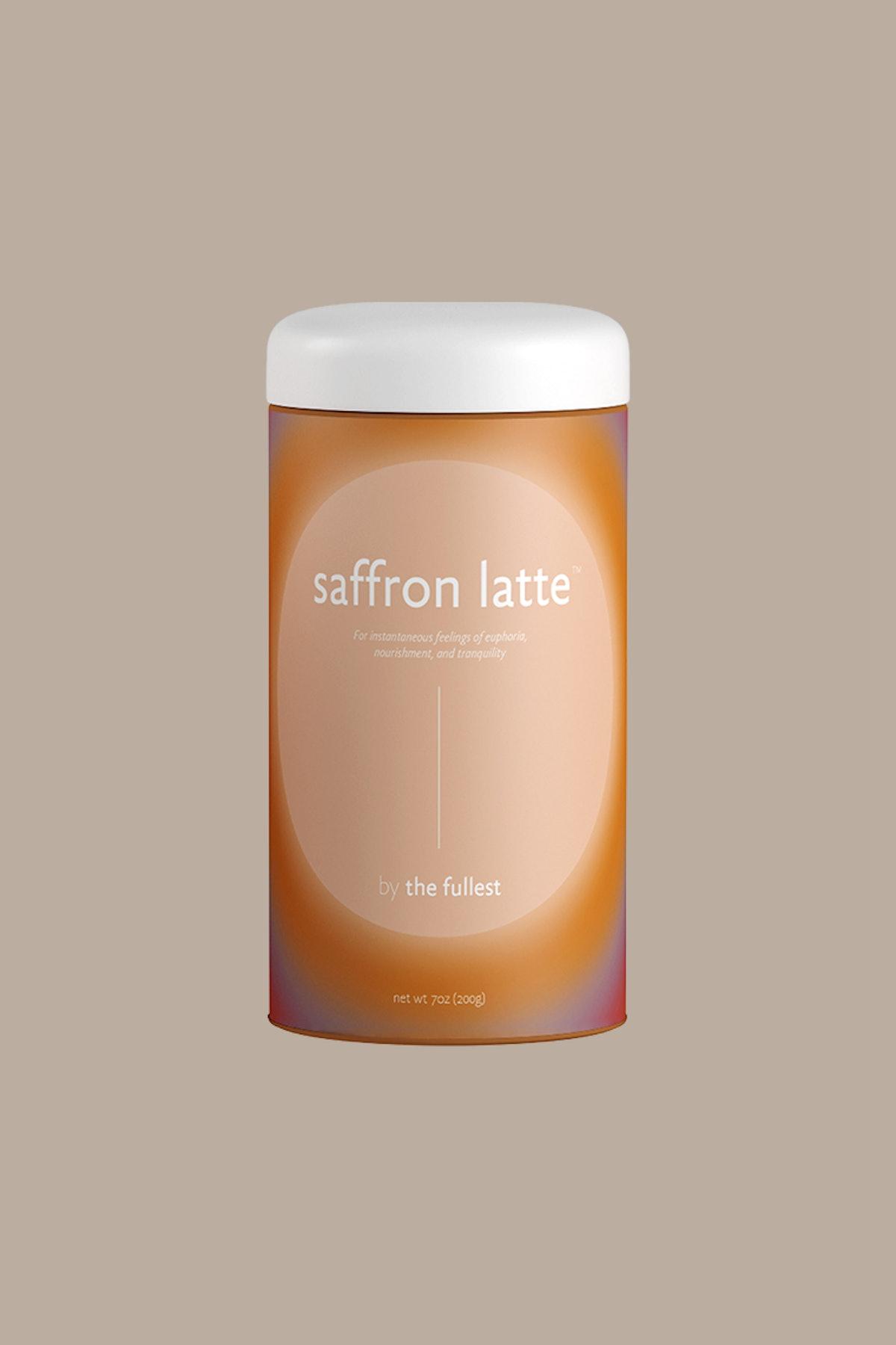 Saffron Latte