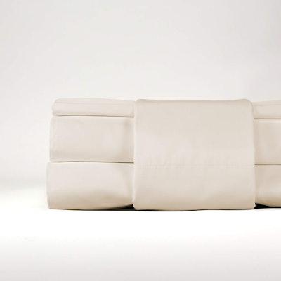 Thomas Lee Percale Pima Cotton Bed Sheets & Pillowcases Set (King Size)