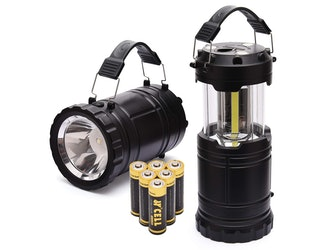 PaceEarth LED Camping Lantern And Handheld Flashlight 2-in-1