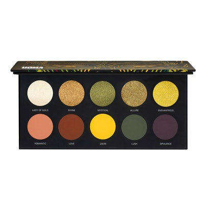 Allure Black Magic Color Palette