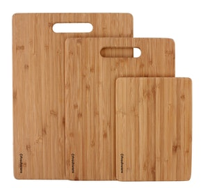 Freshware Bamboo Cutting Boards (3-Pack)