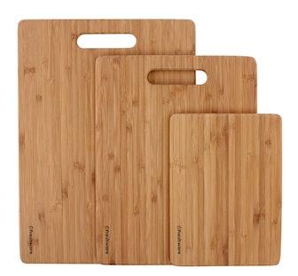 Freshware Bamboo Cutting Boards (3-Pack)
