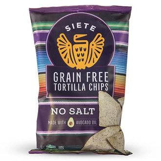 No Salt Grain Free Tortilla Chips (6 Bags)