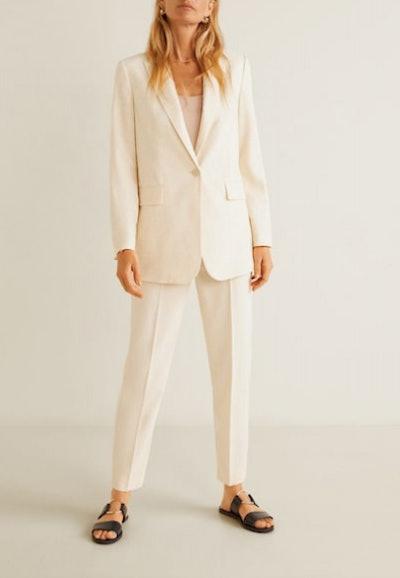 Flecked Suit Blazer
