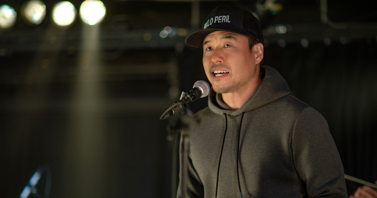 """The """"I Punched Keanu Reeves"""" Song In 'Always Be My Maybe' Almost Didn't Happen, According To Randall Park"""