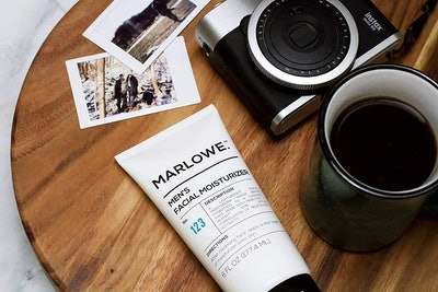 Marlowe. No. 123 Men's Facial Moisturizer