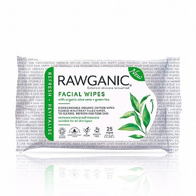 Rawganic Pure Refreshing Facial Wipes