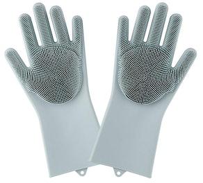 Tengdal Magic Saksak Silicone Dishwashing Gloves