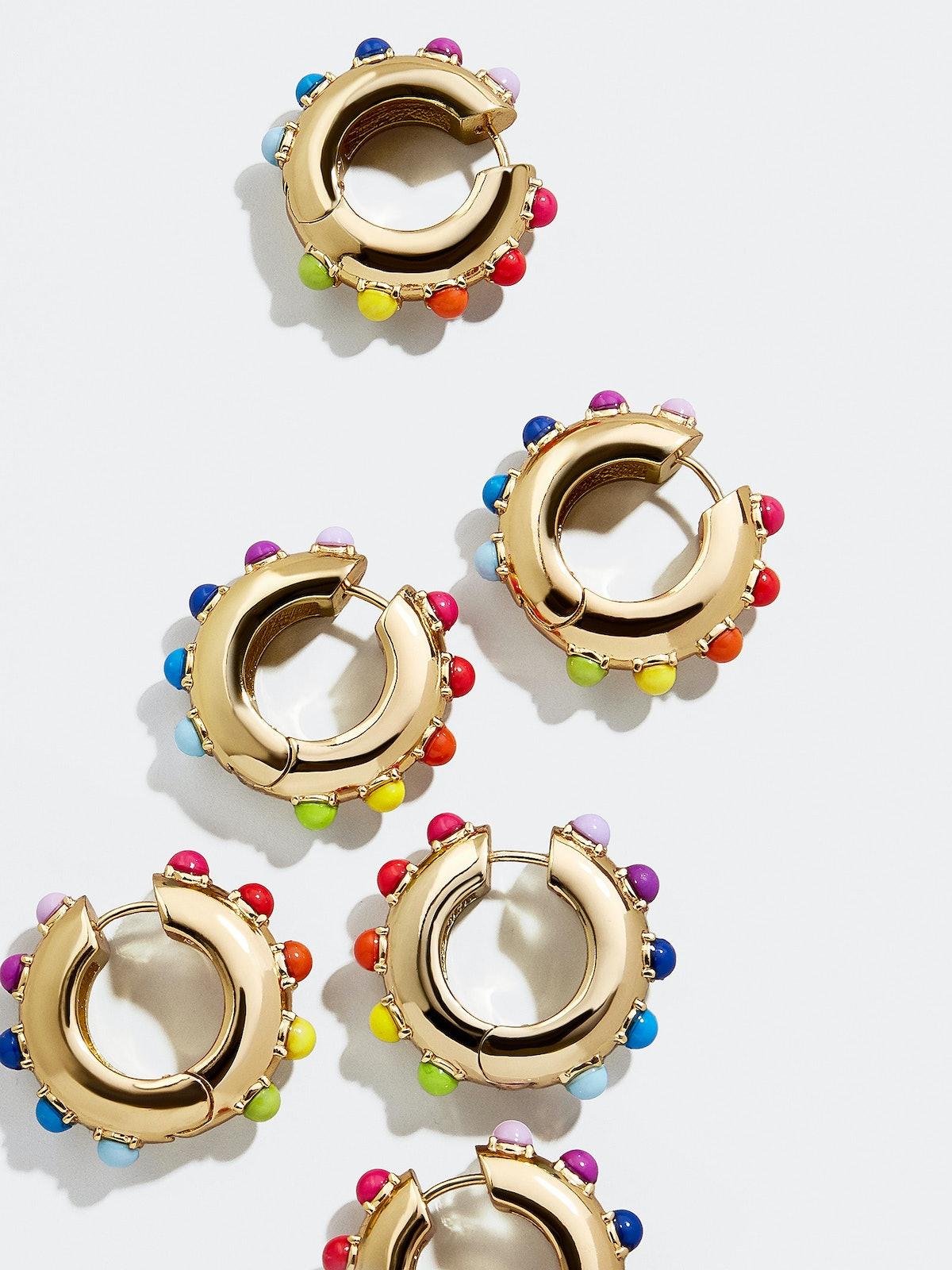 Alaynah Huggie Hoop Earrings