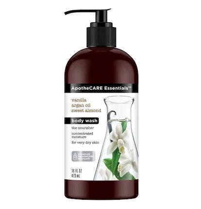 ApotheCARE Essentials With Vanilla Argan Oil Sweet Almond Body Wash - 16 fl oz