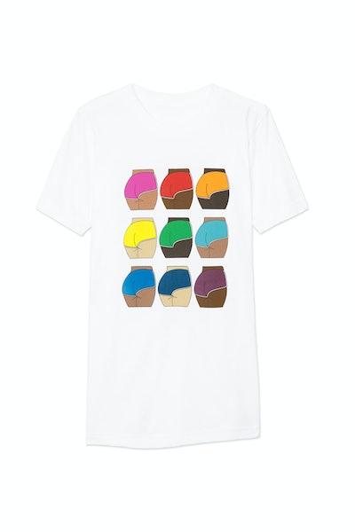 Cheeky Printed Fine Jersey T-Shirt