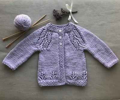 Hand Knit Cardigan