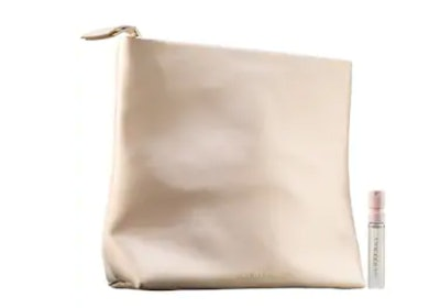 Free Burberry Pouch & Perfume Sample
