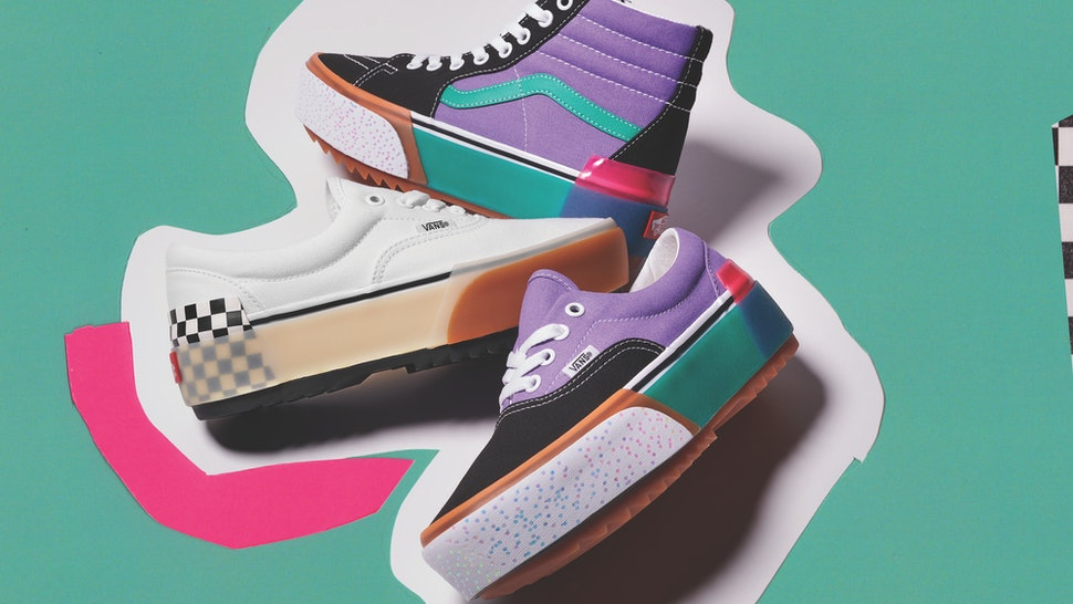 8006b91119 Vans' Stacked Collection Features Platform Sneakers To Step Up Your ...
