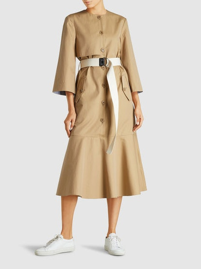 Finn Twill Trench Dress