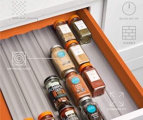YouCopia SpiceLiner Spice Rack Drawer Organizer (6-Pack)