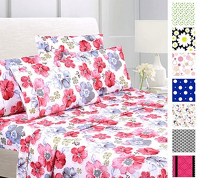 American Home Collection Deluxe Printed Sheet Set