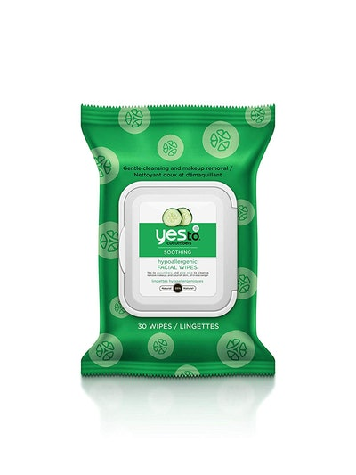 Cucumbers Soothing Hypoallergenic Face Wipes