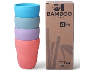 Get Fresh Bamboo Cups (4-Pack)