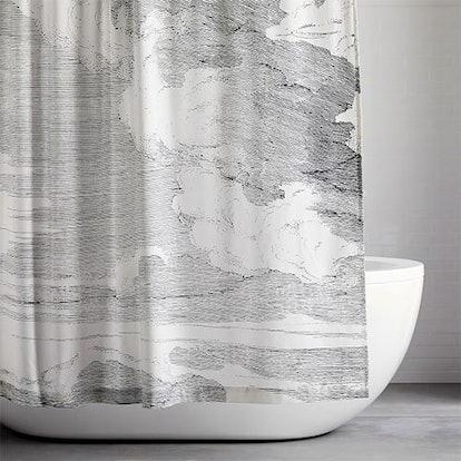Organic Clouds Shower Curtain