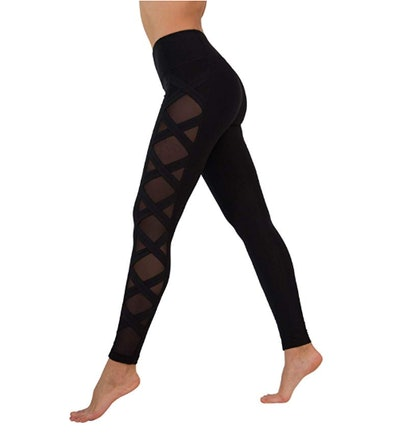 90 Degree By Reflex Criss Cross Leggings