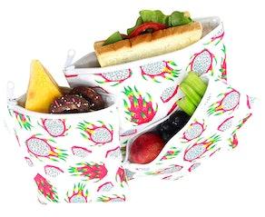 Langsprit Premium Reusable Sandwich & Snack Bags (3-Pack)
