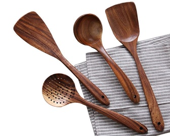 Nayahouse Wooden Cooking Utensils