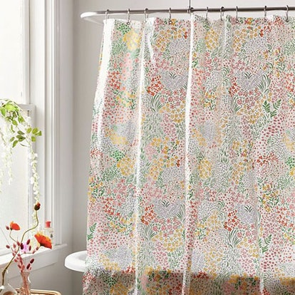 Meadow Floral PEVA Shower Curtain