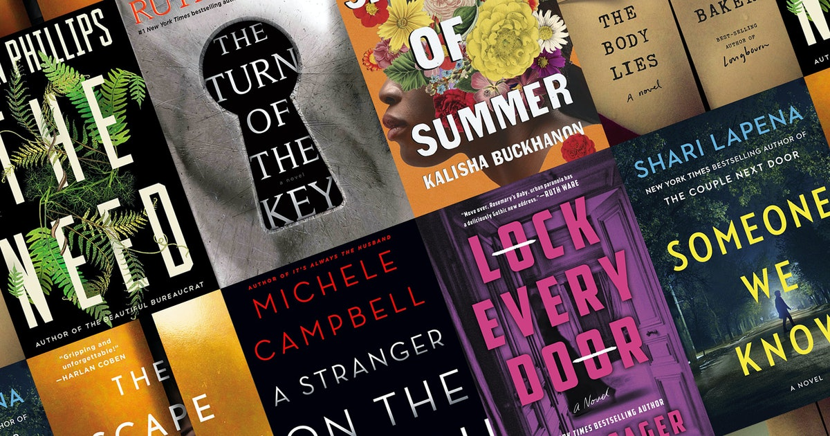 40 New Thrillers Out This Summer That Make The Perfect Vacation Reads