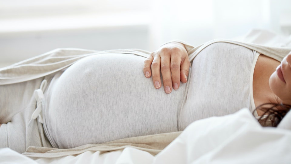 Experts say as your body prepares for delivery, the hormones can make your vagina feel sore.