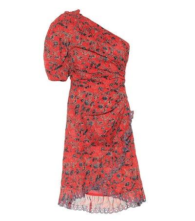 Esther Printed Cotton Minidress