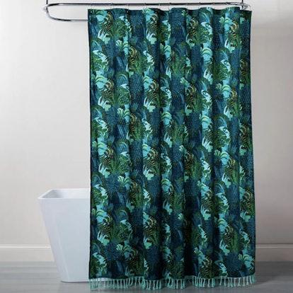 Jungle Print Shower Curtain