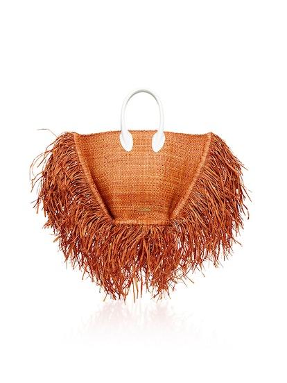 Le Baci Raffia Bag