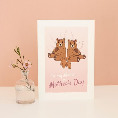 Mother's Day Card For Two Moms