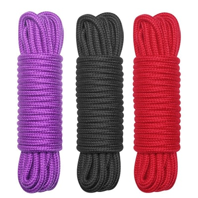 BONTIME All-Purpose Soft Cotton Rope (Set of 3)