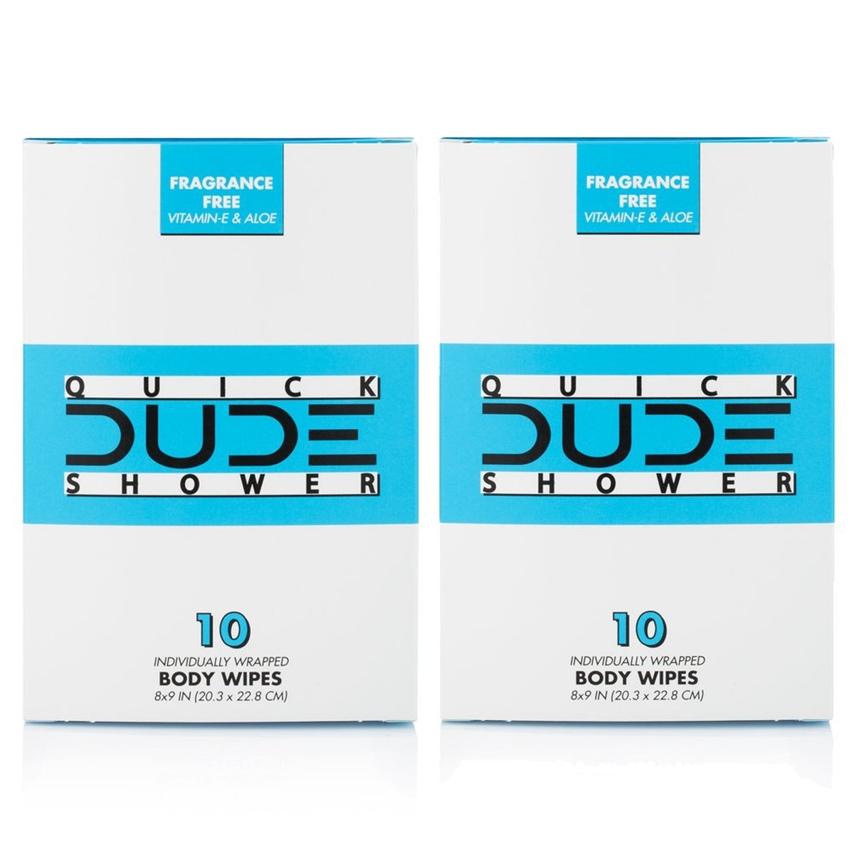 Dude Products Shower Wipes