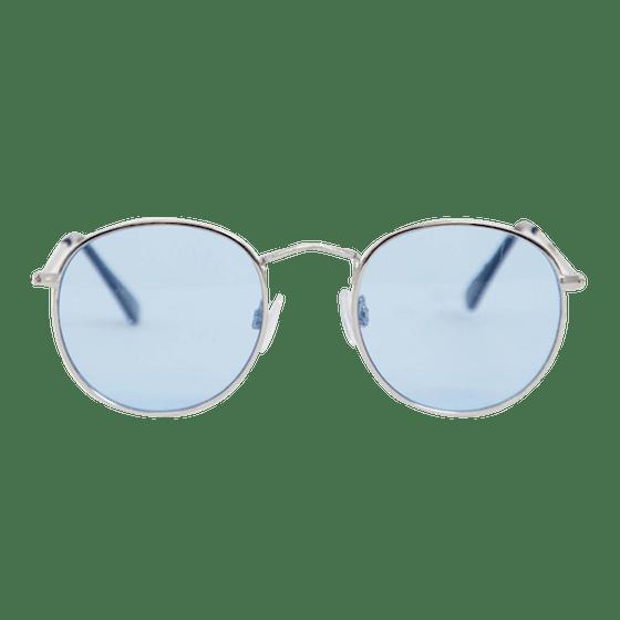 Accessorize Rosie Round Blue Sunglasses