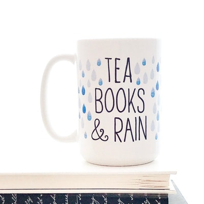 Tea Books & Rain