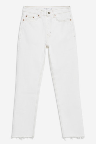 Off White Straight Jeans
