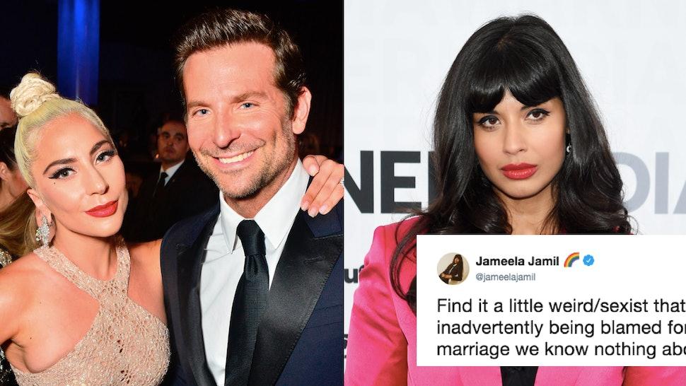 Jameela Jamil's Tweet About Bradley Cooper & Lady Gaga Hits The Nail